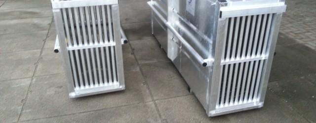 Volledig Aluminium transport kisten voor wilde / dieren